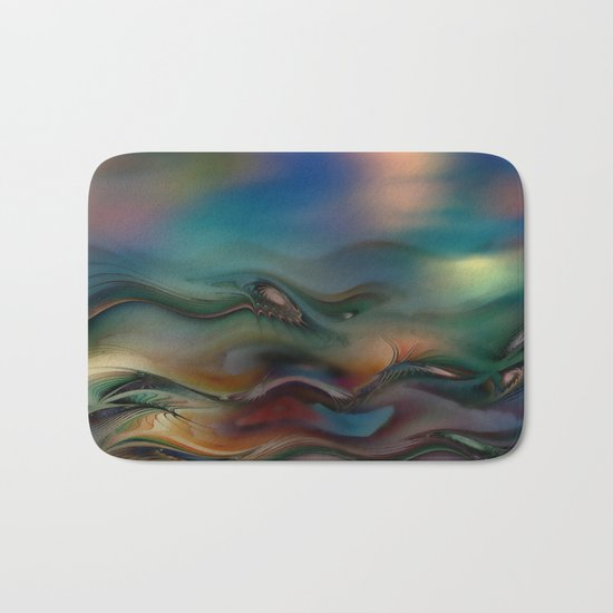 Waves 2 Bath Mat