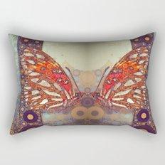 Golden Butterfly Rectangular Pillow