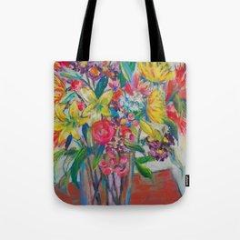 Big Bold Blooms Tote Bag