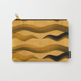"""Abstract Oriental Tiger"" Carry-All Pouch"