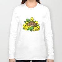lemongrab Long Sleeve T-shirts featuring Lemongrab's Acceptable Lemonade  by BlacksSideshow