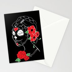 Muerta Black Stationery Cards
