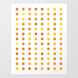 Dalmatian - Sunshine #906 Art Print
