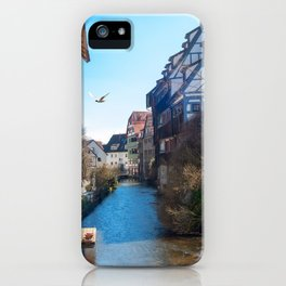 Fischerviertel Ulm / Fishermens quarter Ulm iPhone Case