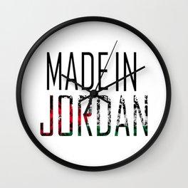 Made In Jordan Wall Clock