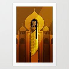 Ladies of Culture Series: India Art Print