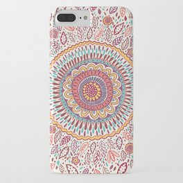 Sunflower Mandala iPhone Case