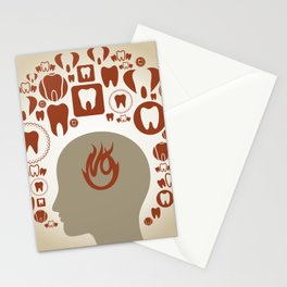 Toothache Stationery Cards