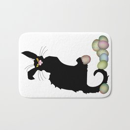 Le Chat Noir - Easter Bath Mat