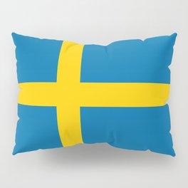 Swedish Flag - Authentic HQ Pillow Sham