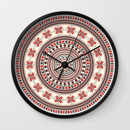 Romanian decorative element Wall Clock