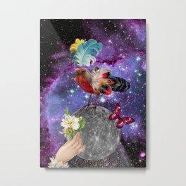 STEAMPUNK BIRD  Metal Print