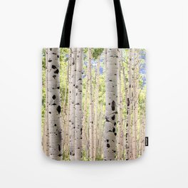 Dreamy Aspen Grove Tote Bag