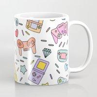 gaming Mugs featuring Gaming by Irene Florentina