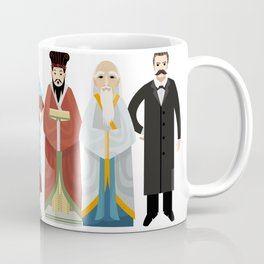great philosophers from all times Coffee Mug