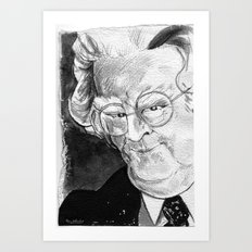 Northrop Frye (literary critic) Art Print