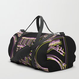 Turntable and Mixer illustration - sketch / drawing Duffle Bag