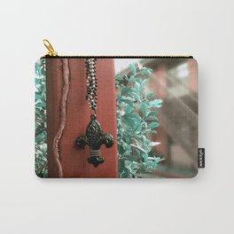 The Fleur- de- Lis Carry-All Pouch