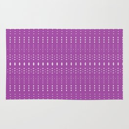 Distorsion in Purple Rug