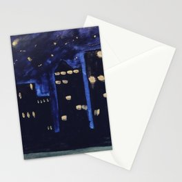 Haute Blue Night Stationery Cards