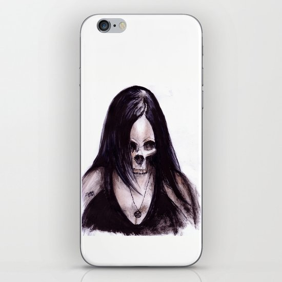 Dead-She iPhone & iPod Skin