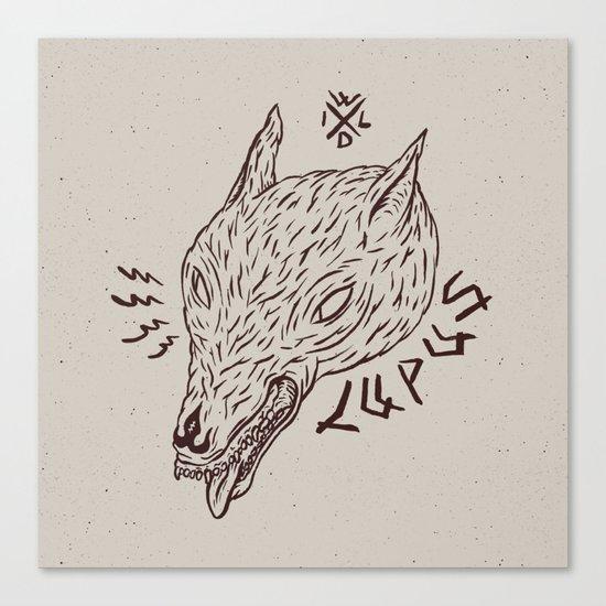 wildbeasts #3 - LUPUS Canvas Print