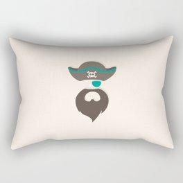 My little green Pirate Rectangular Pillow