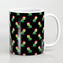 Turtle Sea Animal Merry Christmas Santa Claus  Coffee Mug