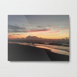 Sunrise on Ocracoke Island - 8 Metal Print