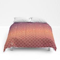 Spring Sunset Comforters