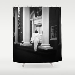 On The Way Shower Curtain