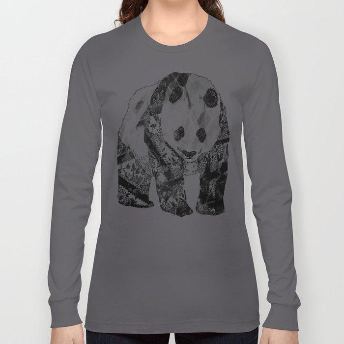 Tattooed Panda Long Sleeve T-shirt