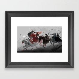 Four Horsemen of the Apocalypse Framed Art Print