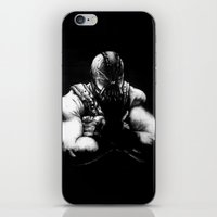 bane iPhone & iPod Skins featuring Bane by NickHarriganArtwork