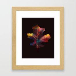 Rainbow Leaf Framed Art Print