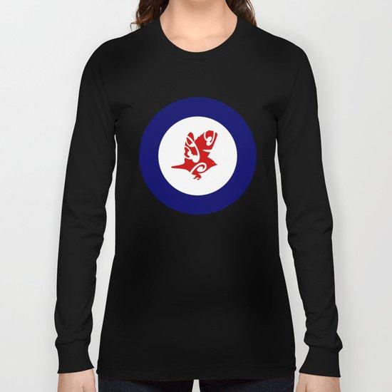 Silvereye Air Force Roundel Long Sleeve T-shirt