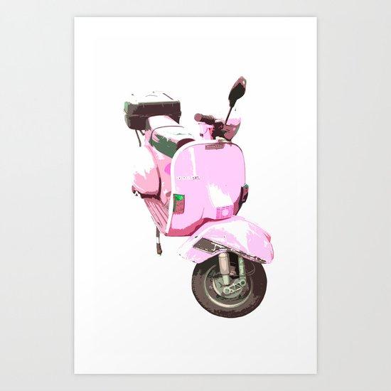 Go Pink! Art Print