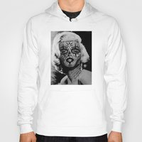 monroe Hoodies featuring Monroe by mothafuc