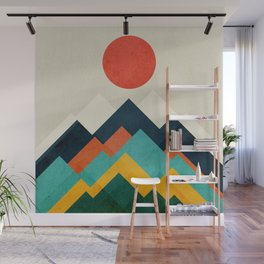 The hills are alive Wall Mural