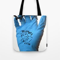 game Tote Bags featuring game. by justin james sehorn