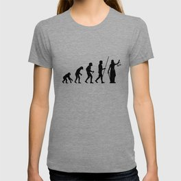 Lady Justice Evolution Lawyer Judge Law T-shirt