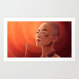 Bai Ling Art Print