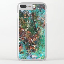 Gut Feeling Clear iPhone Case
