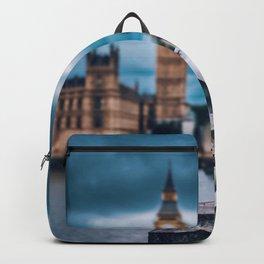 Seagull at Big Ben (Color) Backpack