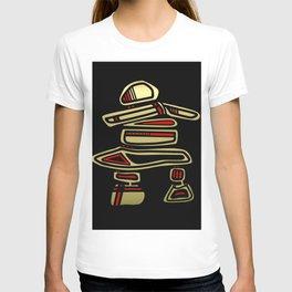 Tribal Inuksuk Stone Totem Figure T-shirt