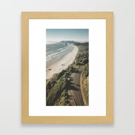 Oregon Coastline Framed Art Print