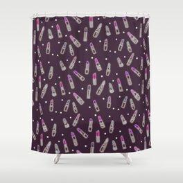 Lipstick Junkie Shower Curtain
