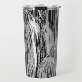 No Snow! But Structures In Dripstone Cave. Travel Mug