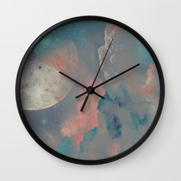 Gashes in the sky Wall Clock