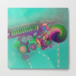 Lollipop & Jelly Beans Metal Print